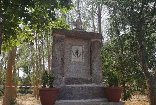 SAN LUCAS CUENTA YA CON UN MOMUMENTO EN SU PUEBLO NATAL