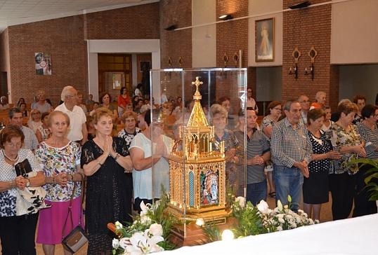 Visita de las reliquias de Santa Bernardita a la diócesis de Astorga