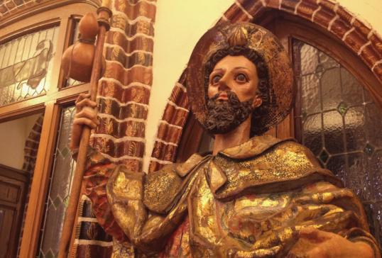 EL PALACIO DE GAUDÍ INAUGURA EL PROYECTO 'LA PIEZA DEL MES' DEDICADO AL AÑO JACOBEO