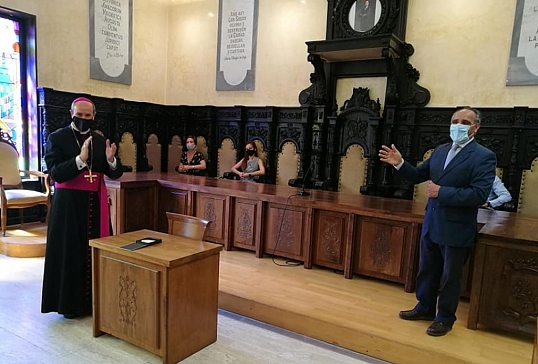 En el ayuntamiento de Astorga