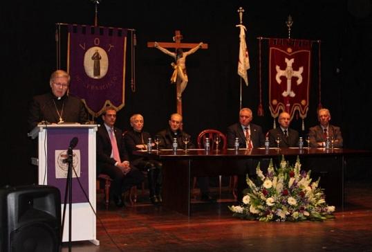 El Obispo de Astorga pregona la Semana Santa de Villafranca