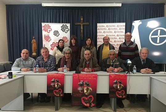 Cáritas Diocesana de Astorga presenta la 55 Campaña Navideña