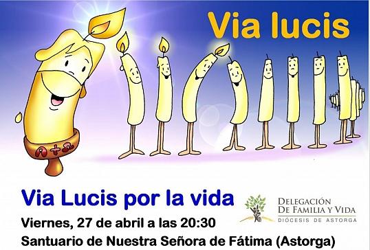 Via Lucis por la vida en el Santuario de Fátima