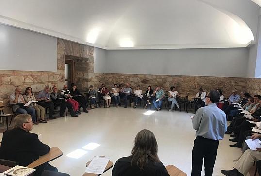 Encuentro de principio del curso de las Vicarías y  Delegaciones Episcopales en Astorga