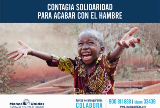 CAMPAÑA CONTRA EL HAMBRE DE MANOS UNIDAS 2021