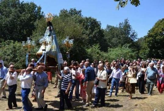 El Santuario de Otero abre sus puertas a la Fiesta de la Virgen de los Remedios
