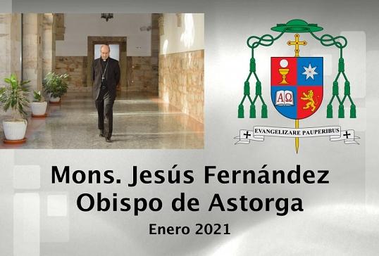 VÍDEO DE ENERO DE 2021 DEL OBISPO DE ASTORGA.