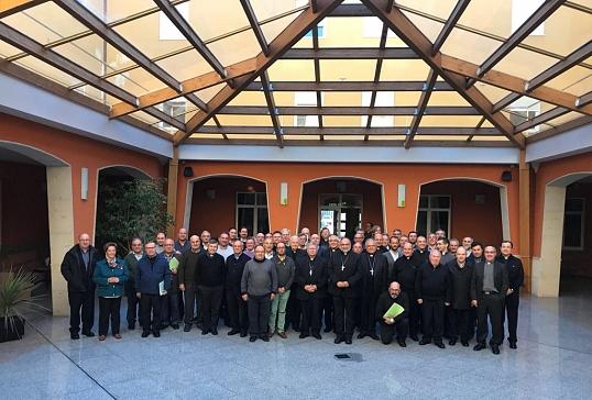 Encuentro de Obispos- Vicarios y Arciprestes de la Provincia Eclesiástica en la Virgen del Camino