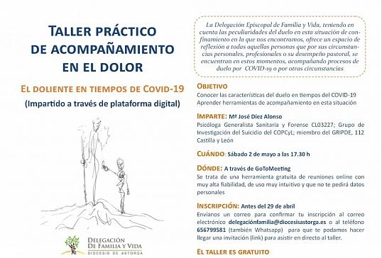 TALLER PRÁCTICO DE ACOMPAÑAMIENTO EN EL DOLOR