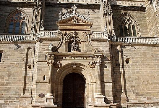 Portada renacentista de la Catedral de Astorga