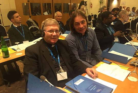 El Sr.Obispo participan en la Plenaria de la Comisión Católica Internacional de Migraciones en Roma