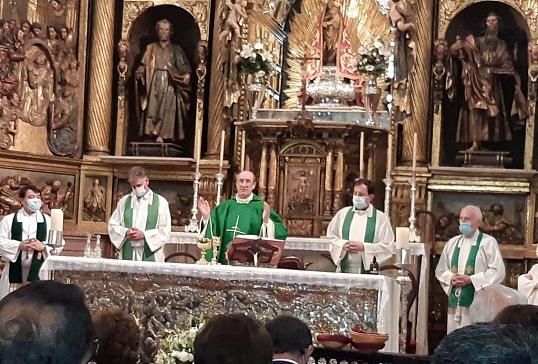 En la Basílica de La Encina