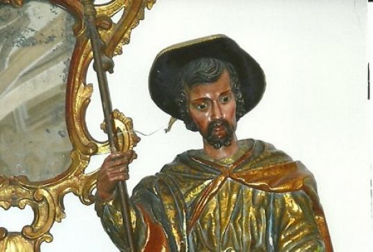 La Hermandad de las Cinco Llagas celebra a su patrón, San Roque