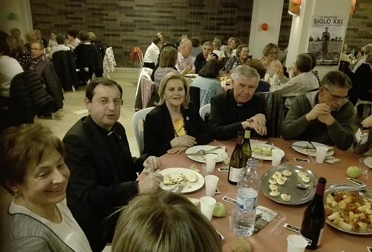 Cena de Manos Unidas en Ponferrada