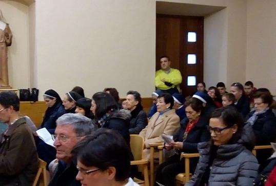 Renovación de votos de la hermana Toñi
