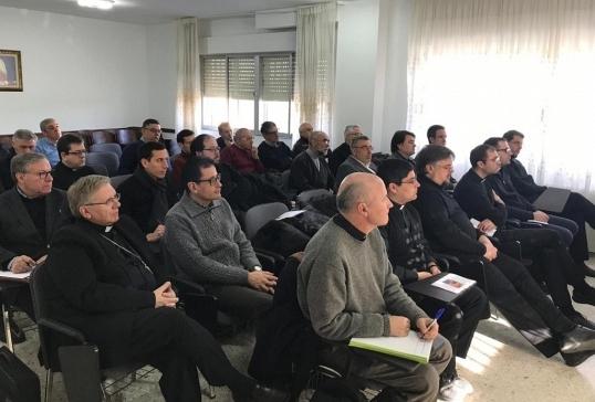 Convivencia de los sacerdotes más jóvenes de la Diócesis en La Bañeza
