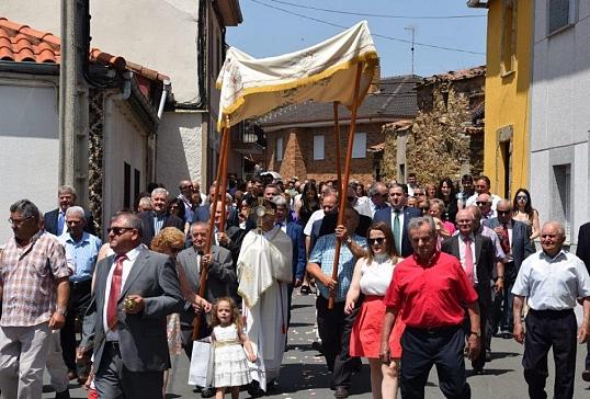 Fiesta de San Juan Bautista en Ferreras de Abajo