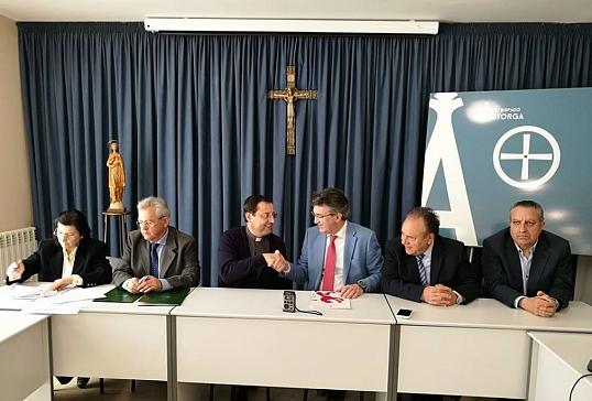 Firma del Convenio de Bienes Muebles e Inmuebles con la Diputación de León