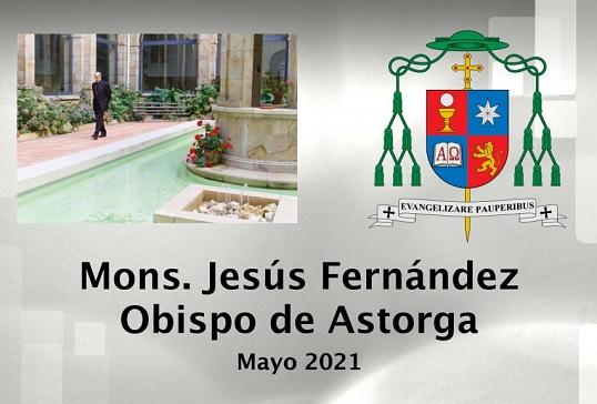 VIDEO MENSUAL DEL SR.OBISPO-MAYO 2021